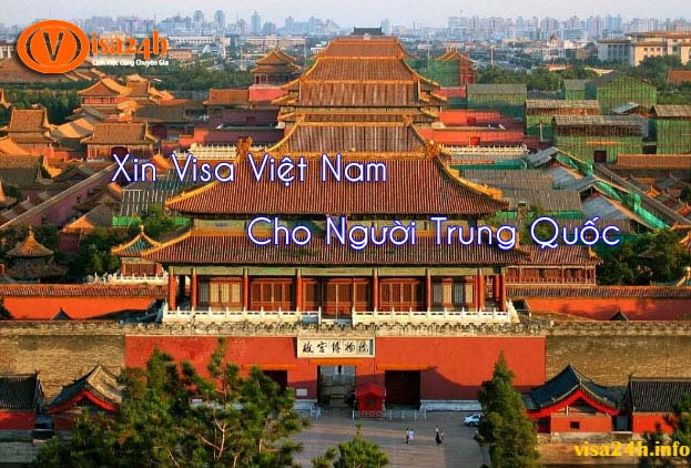 Xin visa Việt Nam cho người Trung Quốc