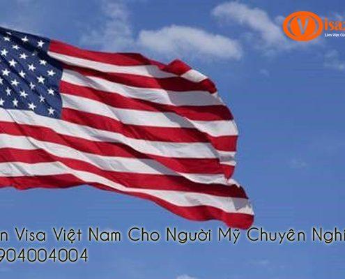 Xin Visa Việt Nam Cho Người Mỹ