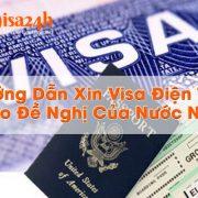 xin visa điện tử