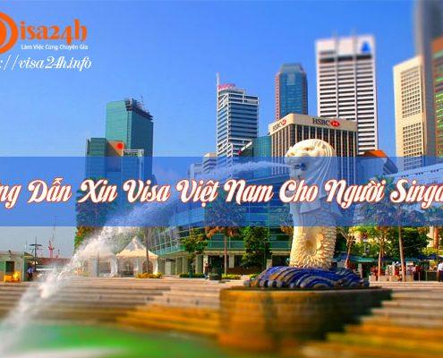 xin visa việt nam cho người singapore