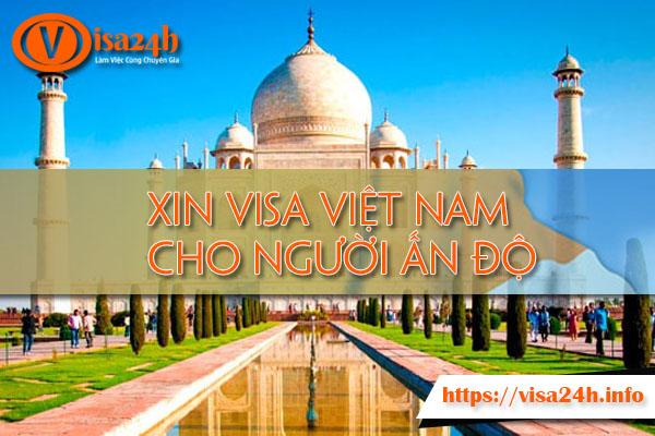 Xin Visa Việt Nam cho Người Ấn Độ