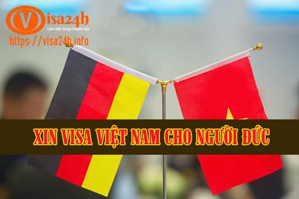Xin Visa Việt Nam Cho Người Đức