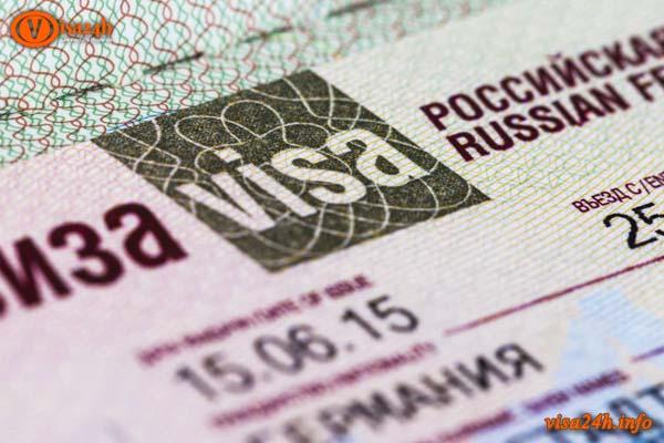 Thủ tục xin visa đi nga