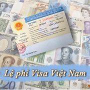 Lệ phí visa Việt Nam