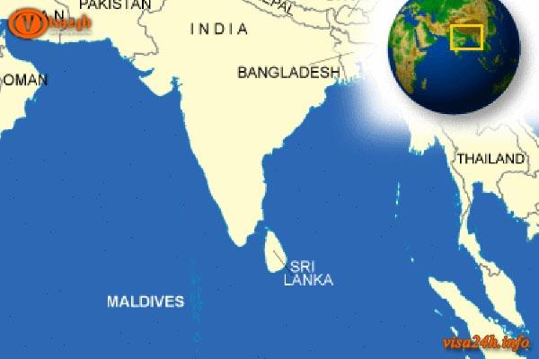 Maldives ở đâu?