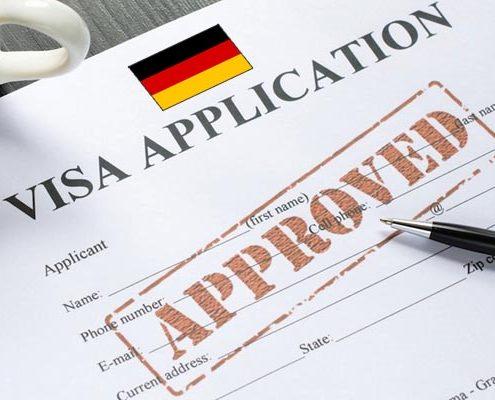 Thủ tục xin visa Đức thăm thân nhân