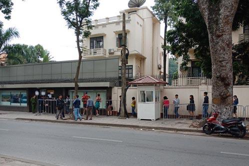 Phòng Lãnh sự, Đại sứ quán Trung Quốc tại Hà Nội