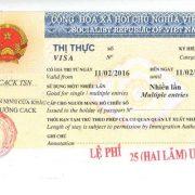 Visa thăm thân Việt Nam